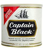 CAPTAIN BLACK PIPE TOBACCO 12 OZ CAN