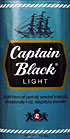 CAPTAIN BLACK LIGHT PIPE TOBACCO 1.5OZ PACKAGES 6CT.