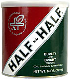 HALF AND HALF PIPE TOBACCO 14 OZ CAN 