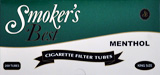 Smokers Best Menthol Tubes 200ct