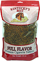 KENTUCKY'S BEST FULL FLAVOR CIGARETTE TOBACCO 1LB BAG