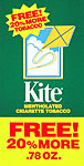 KITE TOBACCO 12/ .78OZ- PROMOTIONAL PACK 