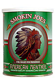 Smokin Joes American Menthol Tobacco 5.29oz can 