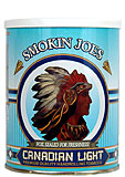 Smokin Joes Canadian Light Tobacco 5.29oz can 