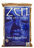 ZEN LIGHT CIGARETTE TOBACCO 6.2 OZ