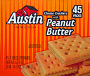 Austin Peanut Butter Cheese Crackers 45CT 
