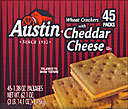 Austin Wheat  &amp; Cheddar Cheese Crackers 36CT 