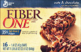 Fiber One Oats &amp; Chocolate 16ct 
