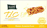 Kashi TLC Chewy Granola Bars Honey Almond Flax 12-1.2oz Bars 