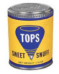 TOPS Sweet Dry Snuff 12ct.