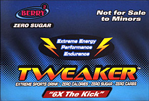 Tweaker  - Berry - 6X The Kick 12/2FL oz Bottles