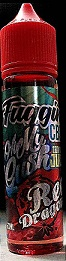 FUGGIN CBD VAPE JUICE - RED DRAGON 60ML 250MG