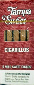 TAMPA SWEET CIGARILLOS 10/5PKS