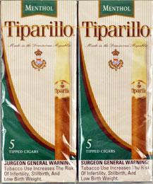 TIPARILLO MENTHOL 5PK
