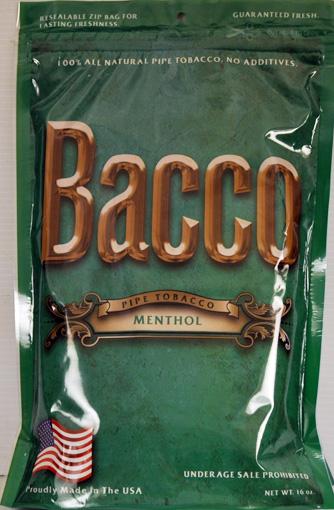 BACCO MENTHOL 16oz BAGS