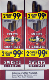 WHITE OWL CIGARILLO SWEET- FOIL POUCH 30CT