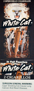 White Cat Foil Pouch Cigarillo 20CT