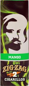 ZIG ZAG CIGARILLO WRAP MANGO 15-2PKS