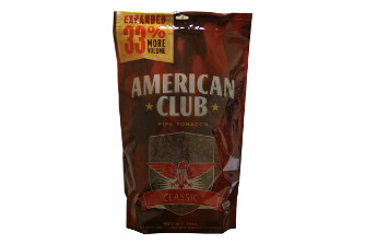 American Club Full Flavor Pipe Tobacco 16oz Bag