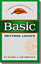 BASIC MENTHOL LIGHT BOX