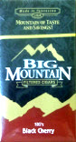 BIG MOUNTAIN FILTERED CIGARS - BLACK CHERRY 100 BOX
