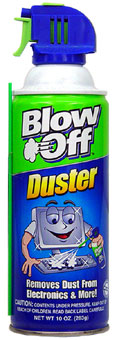 BLOW OFF DUSTER 10oz.
