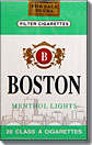 Boston Menthol Light 