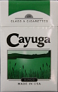 Cayuga Menthol Light Kings Box