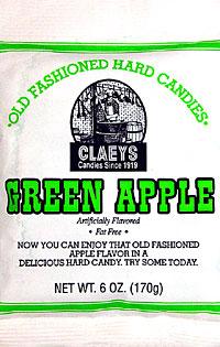 Claeys Old Fashioned Green Apple Barrels 6oz