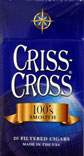 Criss Cross Filtered Cigars - Smooth 100 Box