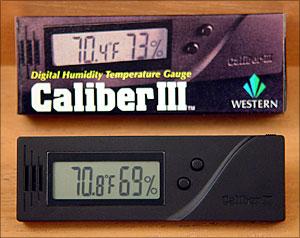 Caliber III Digital Hygrometer