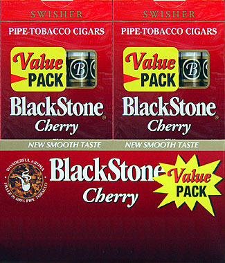 BLACKSTONE CHERRY CIGARS VALUE PACK. 20/5PKS