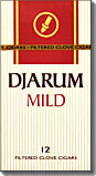 DJARUM MILD BOX FILTERED CLOVE CIGARS