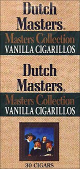 DUTCH MASTERS MASTERS COLLECTION VANILLA CIGARILLOS 30CT BOX