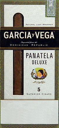GARCIA Y VEGA PANETELA DELUXE 5 5/PKS