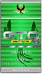 GTO Menthol Filtered Cigars Box