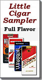 FILTERED CIGAR SAMPLER CARTON - FULL FLAVOR 100