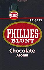 PHILLIES BLUNT CHOCOLATE 10/5PKS