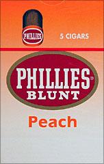 PHILLIES BLUNT PEACH 10/5PKS