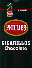 PHILLIES CIGARILLOS CHOCOLATE 6/5PKS