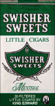 SWISHER SWEETS LITTLE CIGARS MENTHOL 10/CTN