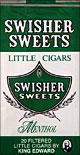 SWISHER SWEETS LITTLE CIGARS MENTHOL 10/CTN