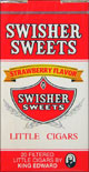 SWISHER SWEETS LITTLE CIGARS STRAWBERRY 10/CTN