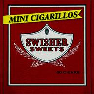 SWISHER SWEETS MINI CIGARILLOS - 60CT BOX