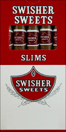 SWISHER SWEETS SLIMS 10/5 PKS