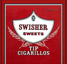 SWISHER SWEETS TIP CIGARILLO 50CT BOX