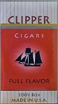 Clipper full Flavor 100 Filtered Little Cigar Box
