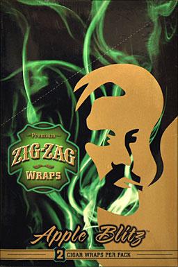 ZIG ZAG APPLE BLITZ WRAP 25-2PKS