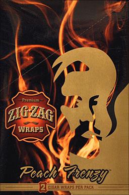 ZIG ZAG PEACH FRENZY WRAP 25-2PKS