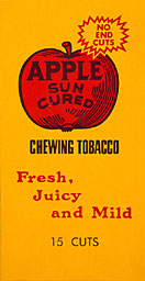 APPLE SUN CURED PLUG TOBACCO
